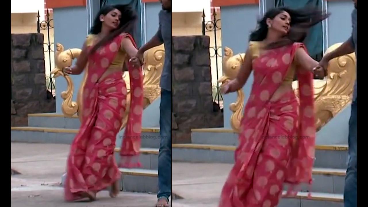 Karuna Telugu serial actress AbhiSS2 19 hot saree photos