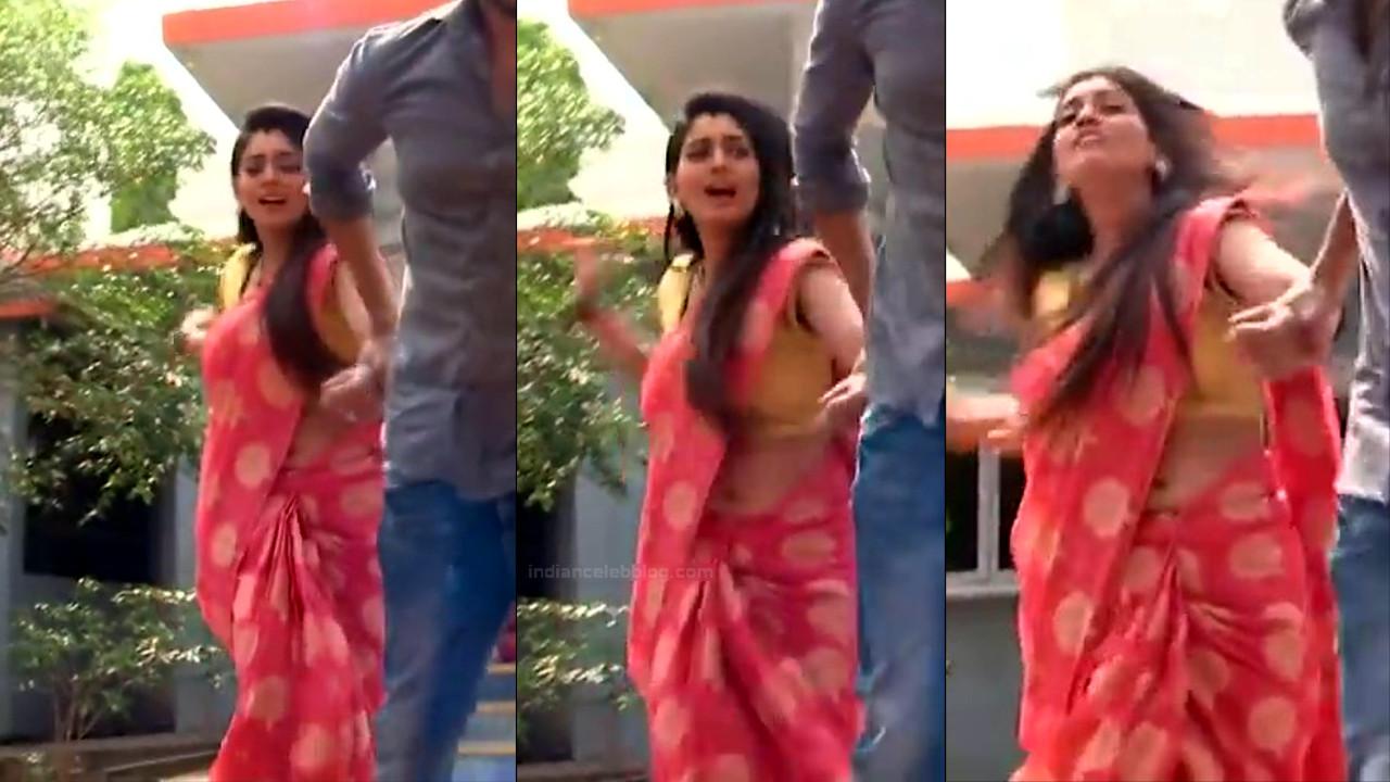 Karuna Telugu serial actress AbhiSS2 20 hot saree photos