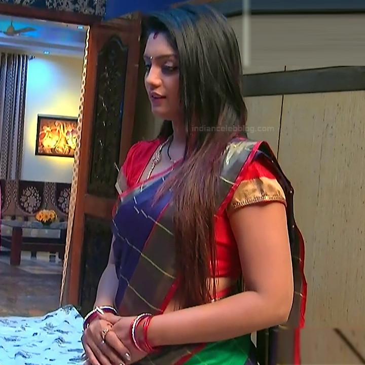 Karuna Telugu serial actress AbhiSS2 5 hot saree photos