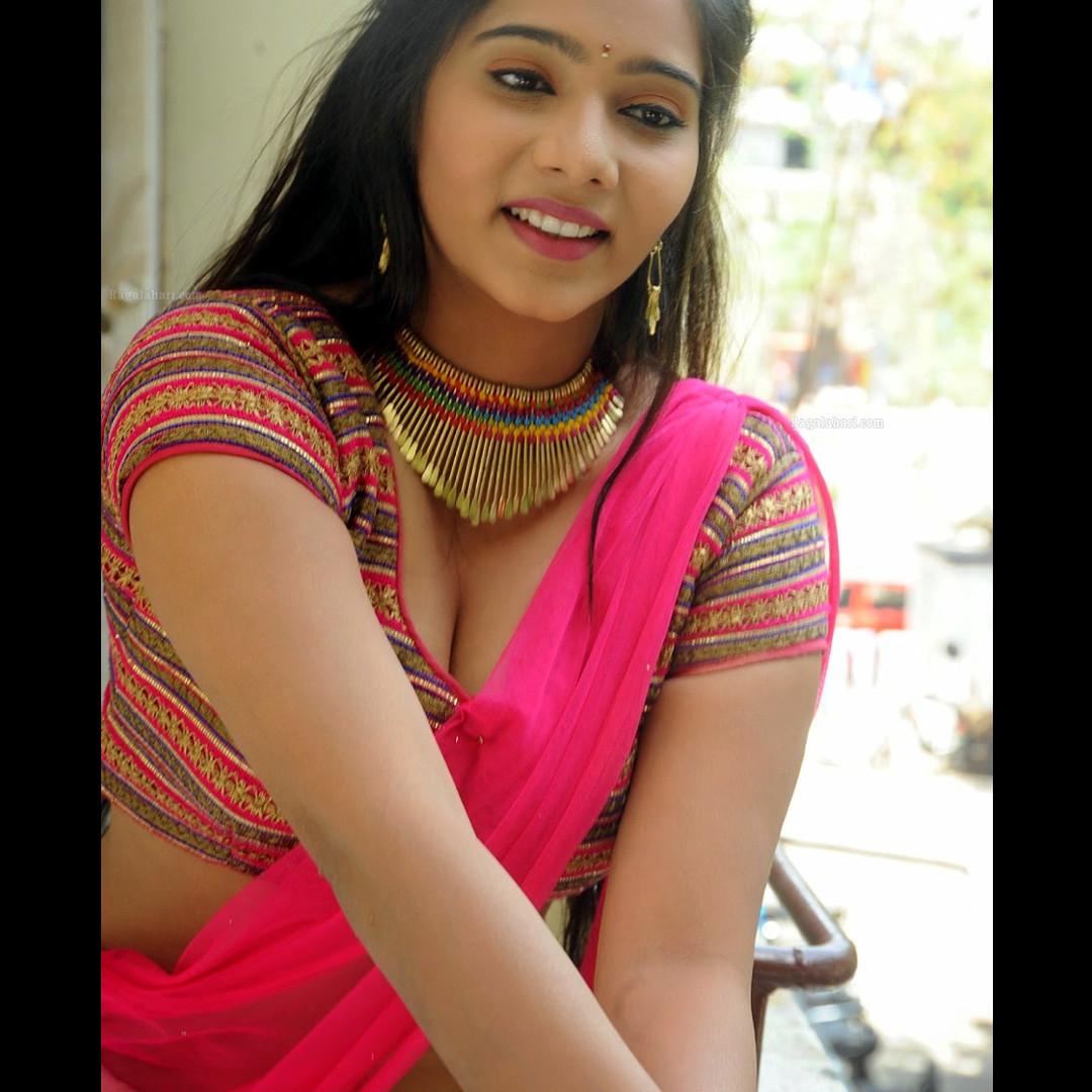 Mitra Aloukika Press photoshoot_13_Hot saree pics