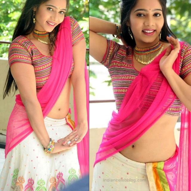 Mitra Aloukika Press photoshoot_3_Hot saree pics