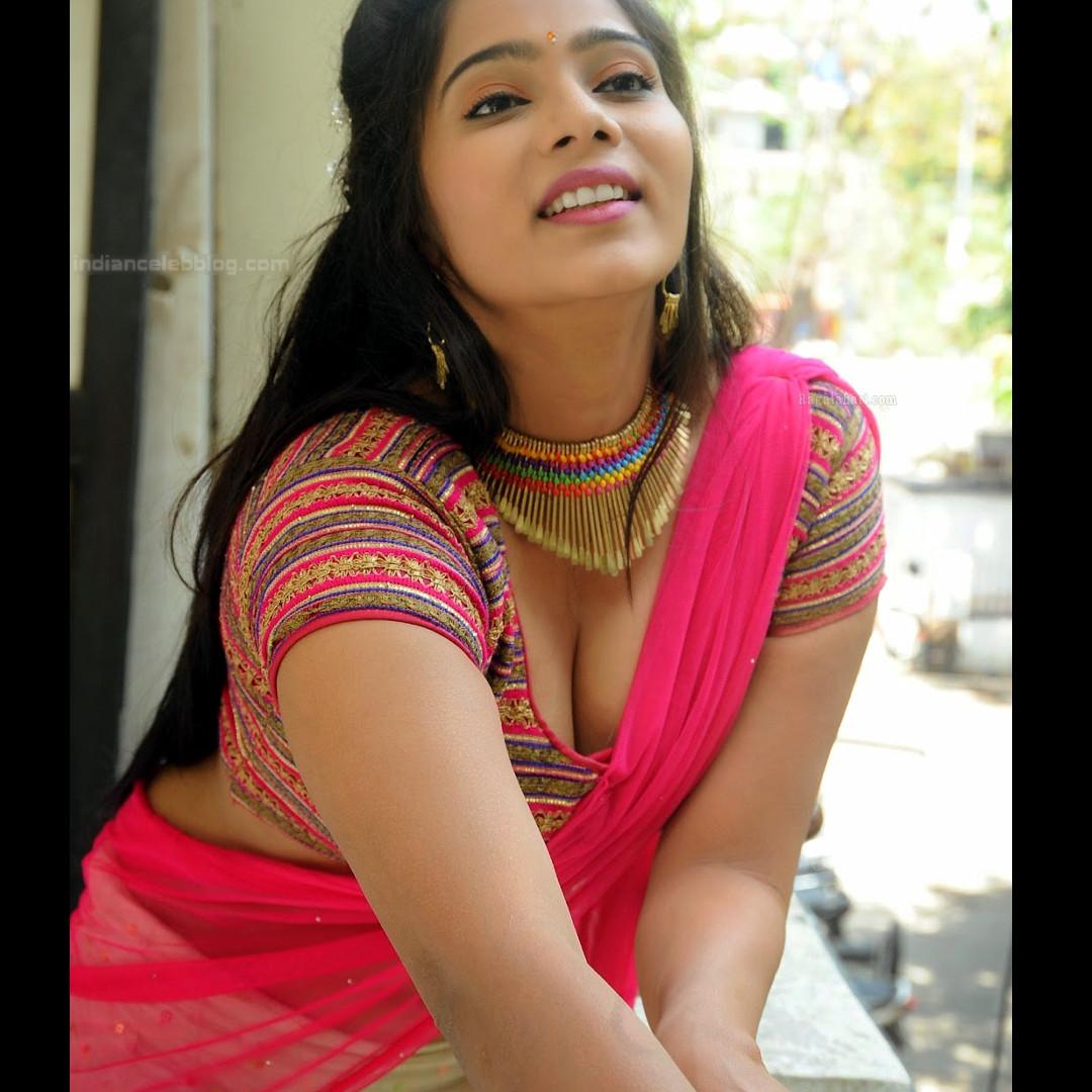 Mitra Aloukika Press photoshoot_9_Hot saree pics