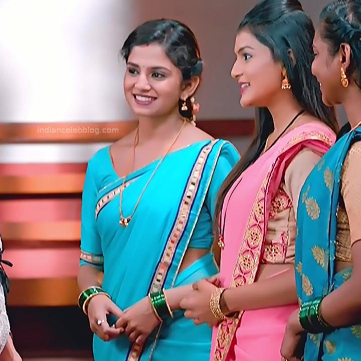 Raksha Gowda Kannada TV serial actress PutMS1 6 Saree Photo