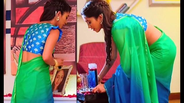 Shivangi Joshi Hindi TV Actress YehRKKH-S2 hot saree photos_7