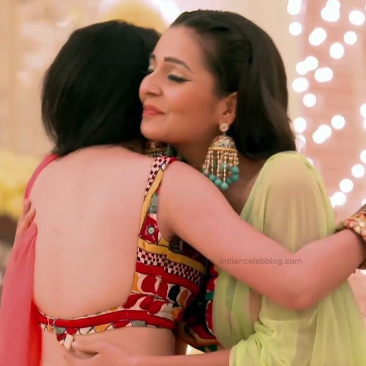 Shrenu Parikh_Hindi TV Actress Ishqbaaz S3_19_Hot Lehenga Pics