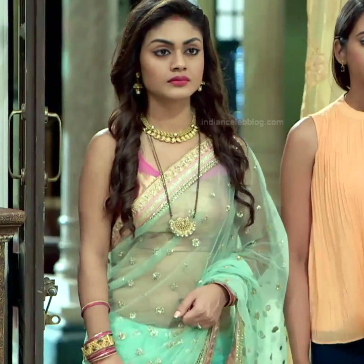 Sreejita De Hindi TV Actress Tumhi HBST-S1 10 Hot saree pics