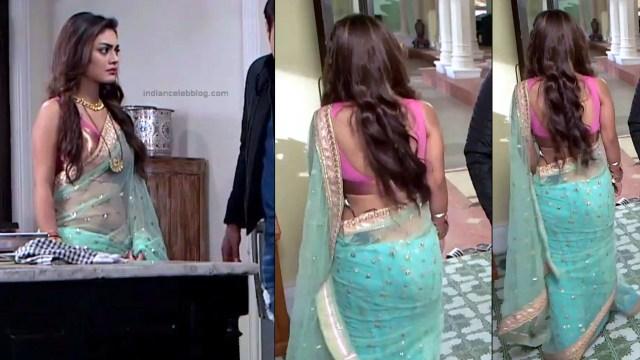 Sreejita De Hindi TV Actress Tumhi HBST-S1 16 Hot saree pics