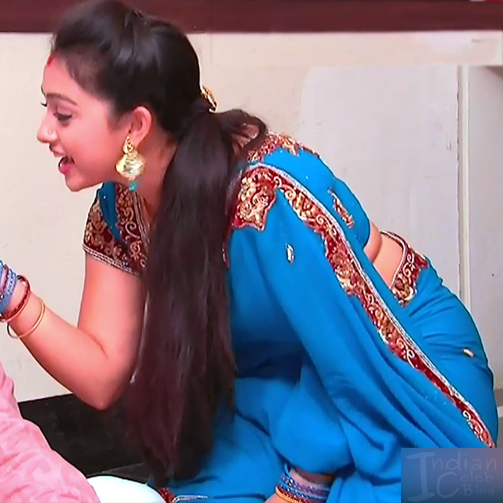 Aishwarya Meghana Telugu serial actress AgniSS1 7 hot saree pic