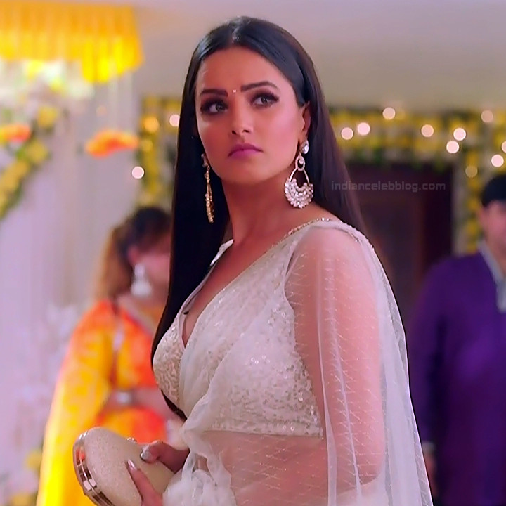 Anita Hassanandani Hindi TV actress YehHMS3 1 hot saree pics