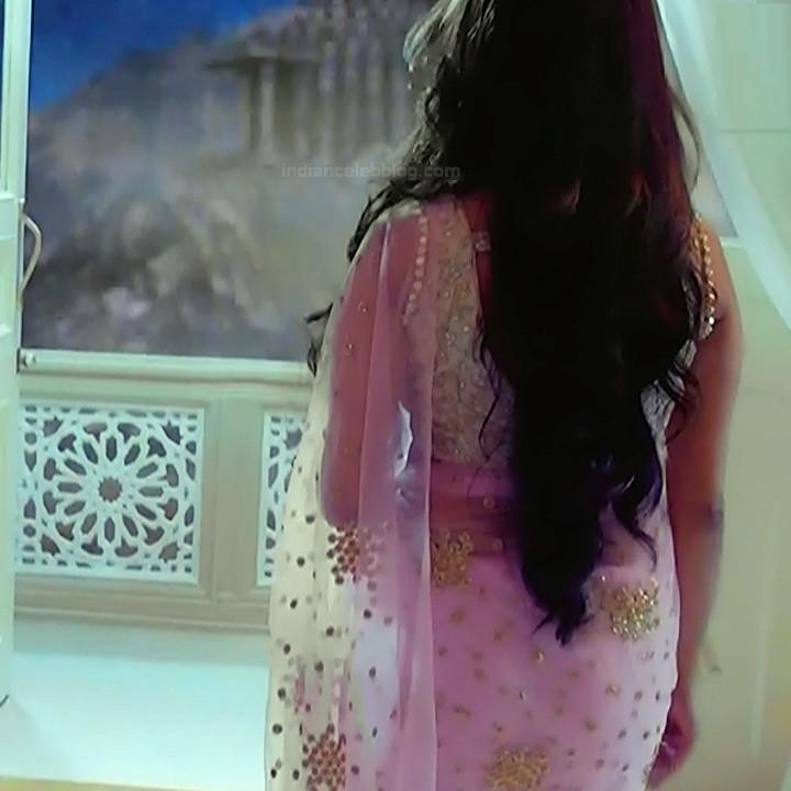 Anita Hassanandani Hindi TV actress YehHMS3 12 hot saree pics
