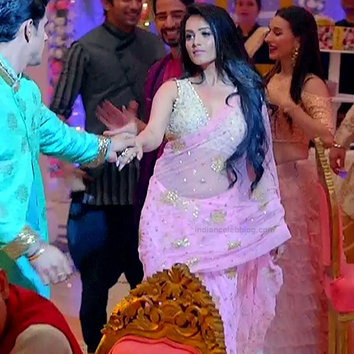 Anita Hassanandani Hindi TV actress YehHMS3 15 hot saree pics