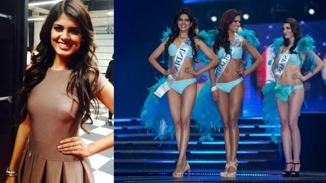 Asha Bhat Miss Supranational India 2014 Hot Pageant bikini contest Pics_6