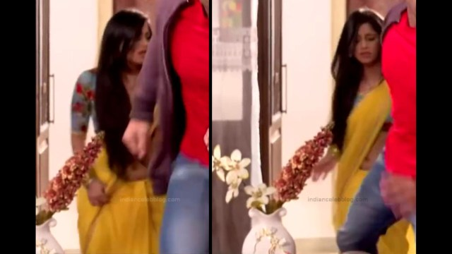 Chandni Bhagwanani Hindi TV Actress Tumhi HBSTS2 12 hot sari caps