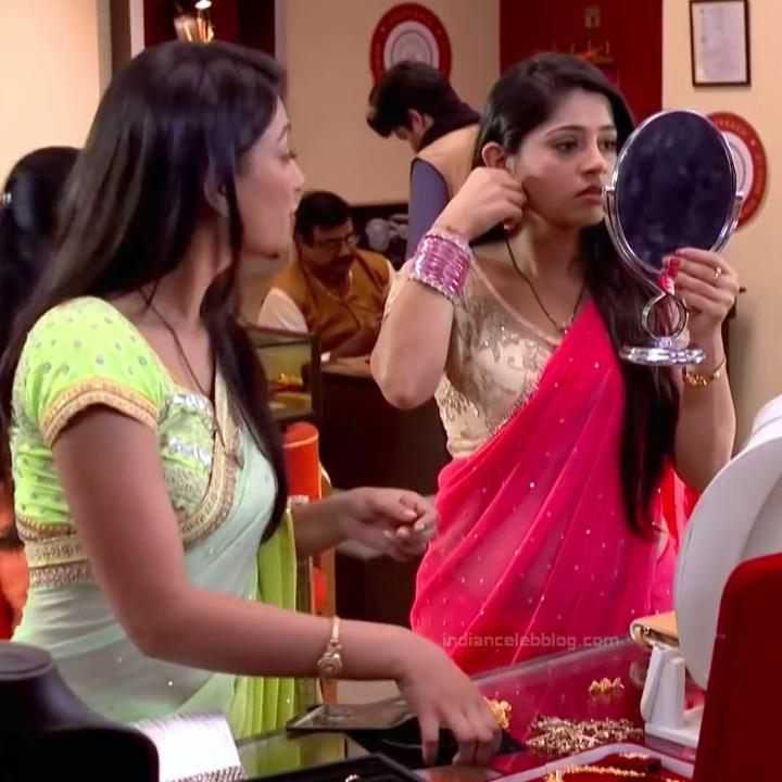 Chandni Bhagwanani Hindi TV Actress Tumhi HBSTS2 16 hot sari caps