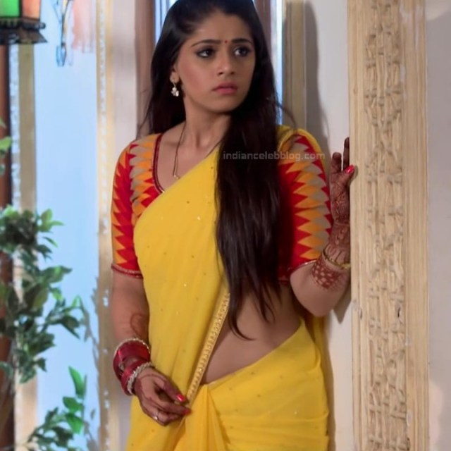 Chandni Bhagwanani Hindi TV Actress Tumhi HBSTS2 24 hot sari caps