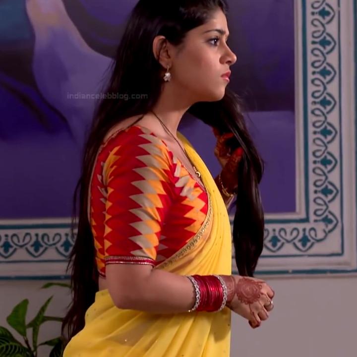 Chandni Bhagwanani Hindi TV Actress Tumhi HBSTS2 26 hot sari caps