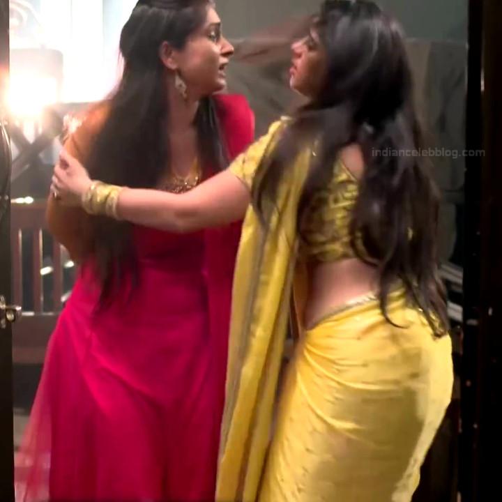Chandni Bhagwanani Hindi TV Actress Tumhi HBSTS2 5 hot sari caps