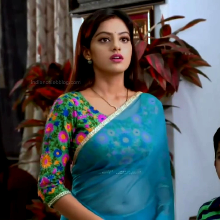Deepika Singh Hindi TV Actress YTD S1 12 Hot saree caps