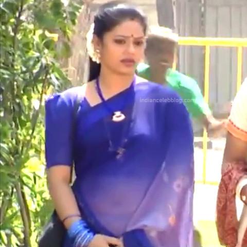 Devi priya Tamil TV actress VKCompS1 10 hot saree caps