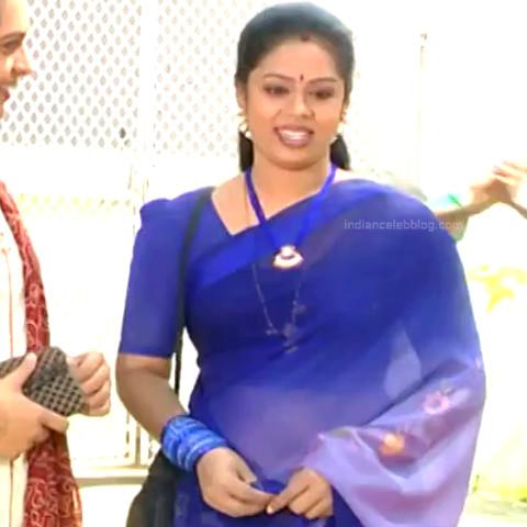 Devipriya Tamil TV actress VKCompS1 9 hot transparent sari pic