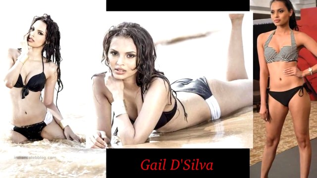 Gail D Silva Miss India 2014 Bikini photoshoot pics