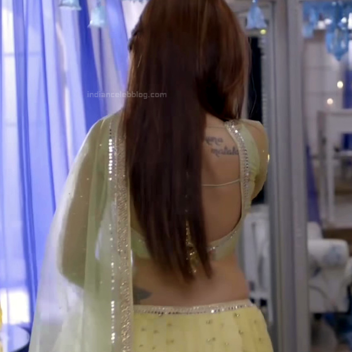 Jennifer Winget Hindi TV Actress YTDS2 12 Hot Lehenga Choli pics