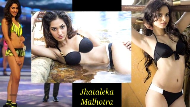 Jhataleka Malhotra Miss India 2014 Bikini Photoshoot Pics