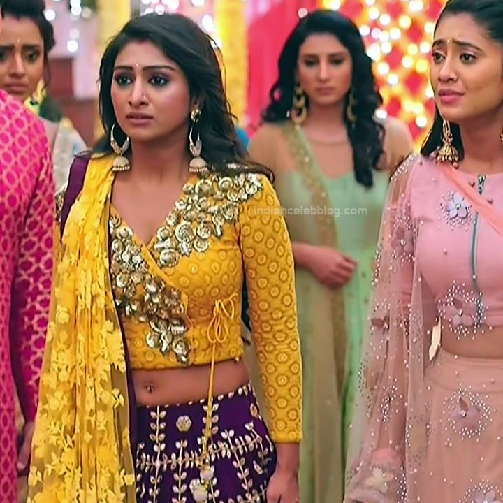Mohena singh hindi serial actress Yeh RKKHS3 10 navel show pic