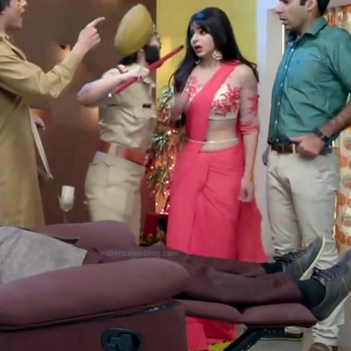 Monica Castelino Hindi TV actress CompS1 19 hot saree pics