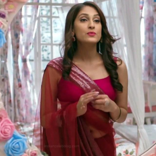 Reena Agarwal hindi TV actress KyaHMPS1 12 hot saree pics