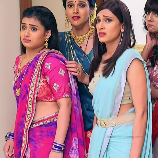 Reena Agarwal hindi TV actress KyaHMPS1 5 hot saree pics