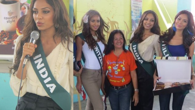Sobhita Dhulipa India Miss Earth 2013_1