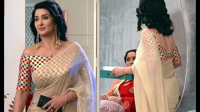Sonica Handa Hindi TV Actress SavitriDCHS1 9 hot saree pics