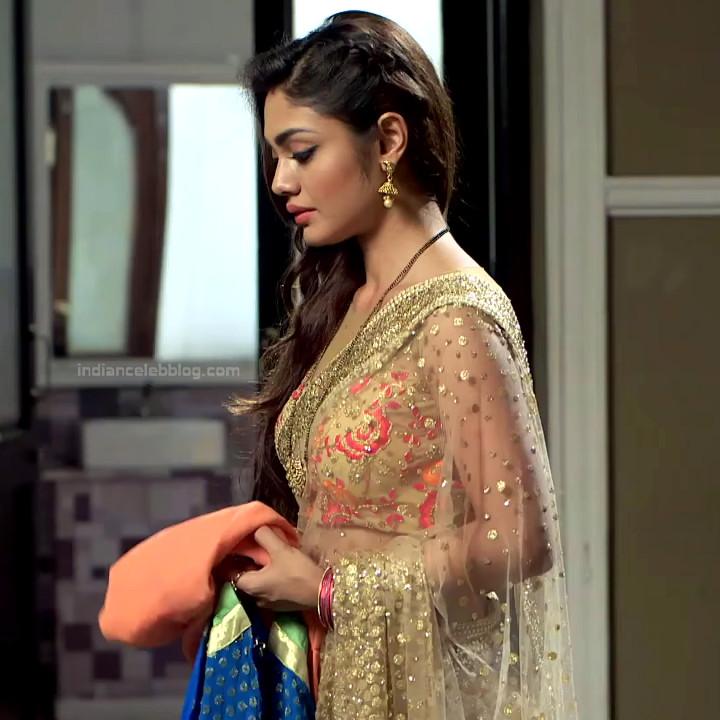 Sreejita De Hindi TV Actress TumhiHBS2 18 Hot Saree Photo
