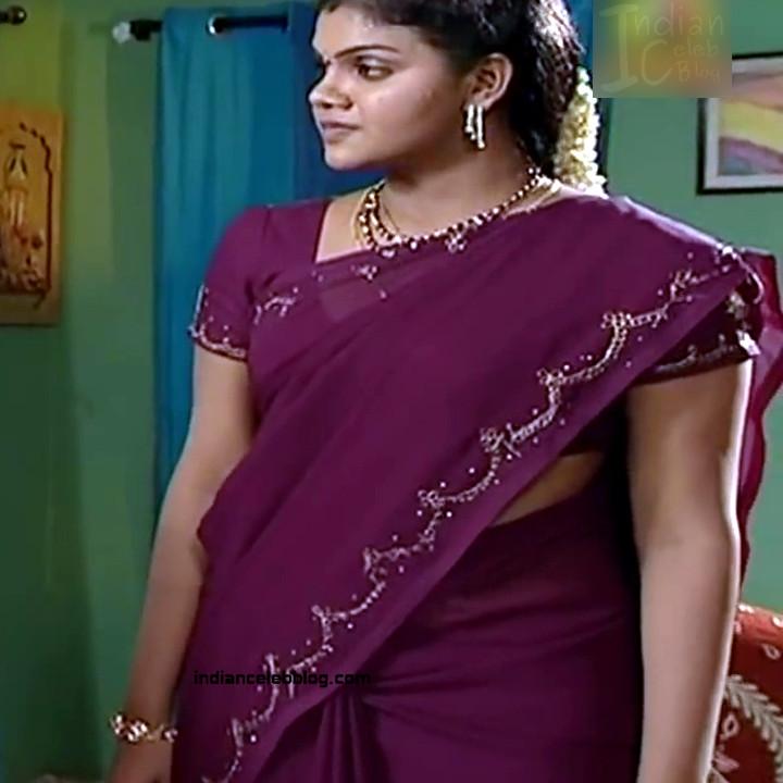 Telugu TV Actress Maa Nanna Art1-S1 13 Hot Saree Caps