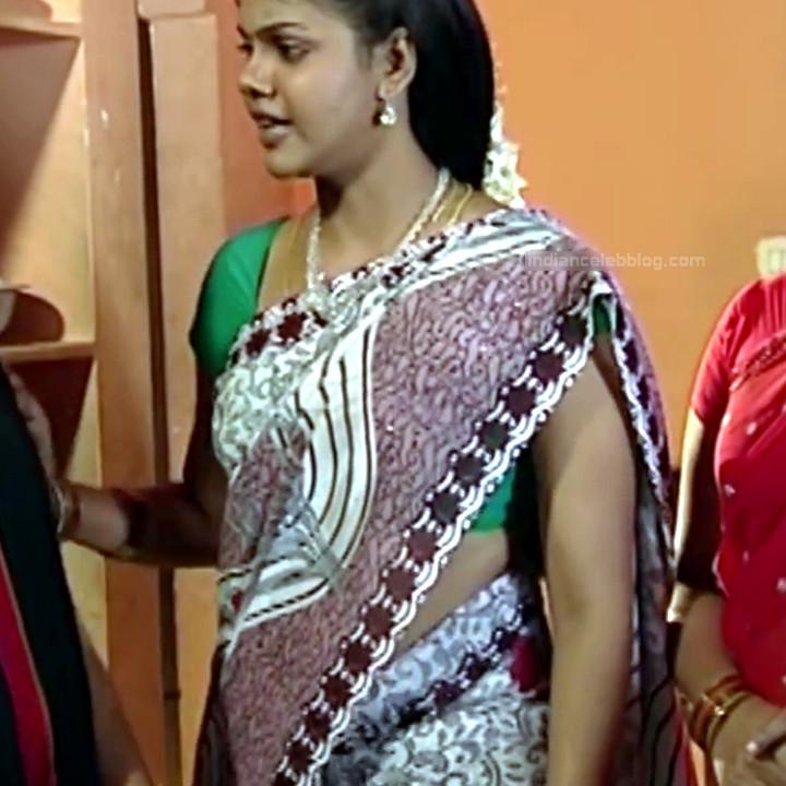 Telugu TV Actress Maa Nanna Art1-S1 6 Hot Saree Caps