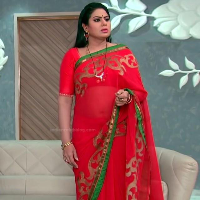 Telugu TV serial mature actress Comp2 18 hot saree photo