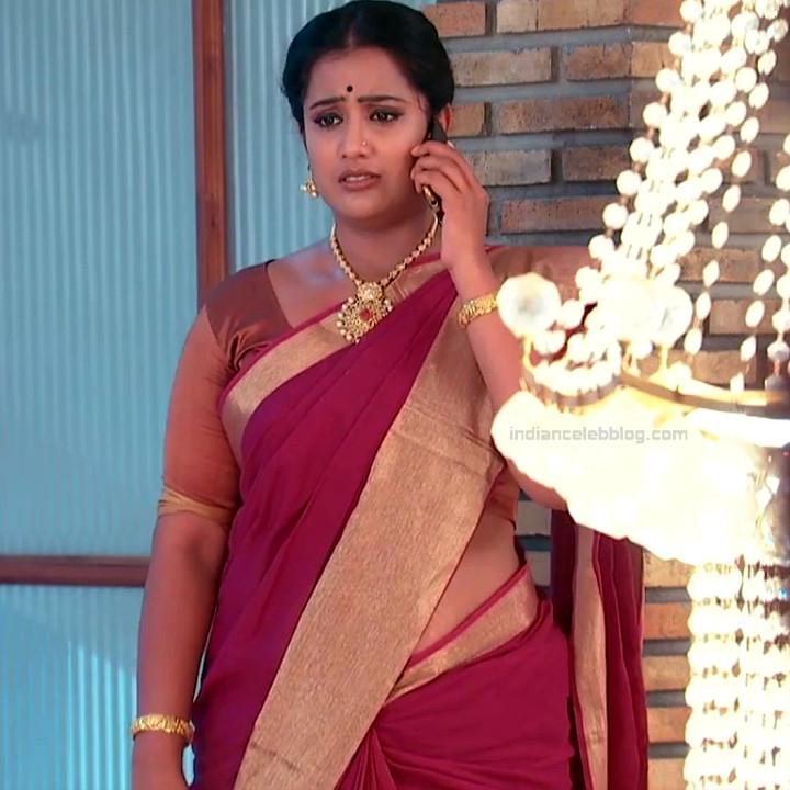 Telugu TV serial mature actress Comp2 19 hot saree photo