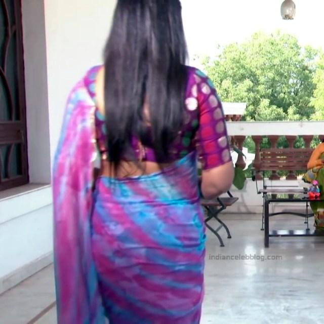 Telugu TV serial mature actress Comp2 21 hot saree photo