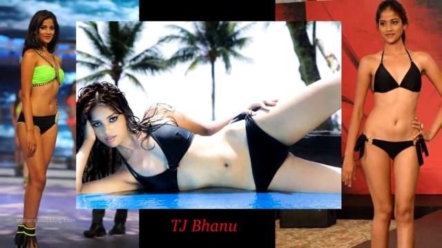 TJ Bhanu Miss India 2014 Swimsuit Round Pics