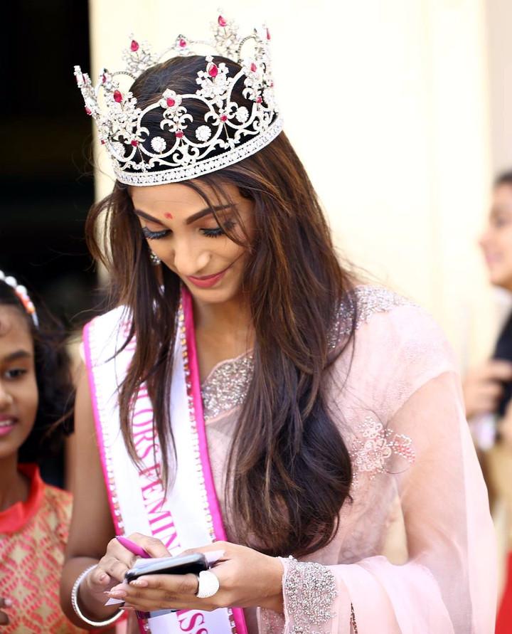 Anukreethy Vas Miss India 2018 Final 24