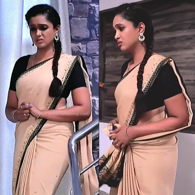 Apoorva Bharadwaj Kannada Serial Sathyam SSS1 19 hot saree pics