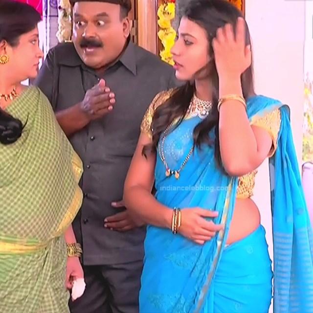 Chandana Raghavendra Kannada TV Actress Sindoora S2 19 hot saree pics