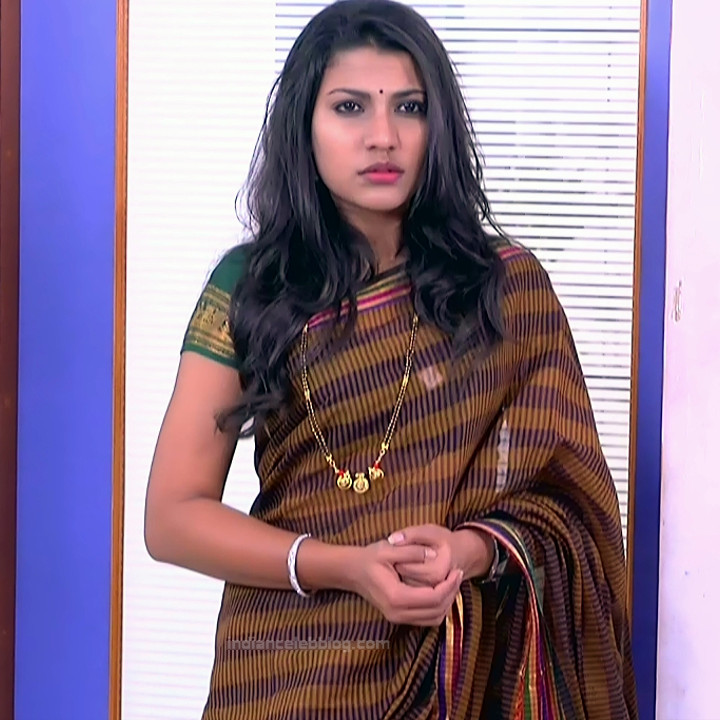 Chandana Raghavendra Kannada TV Actress Sindoora S2 21 hot saree pics