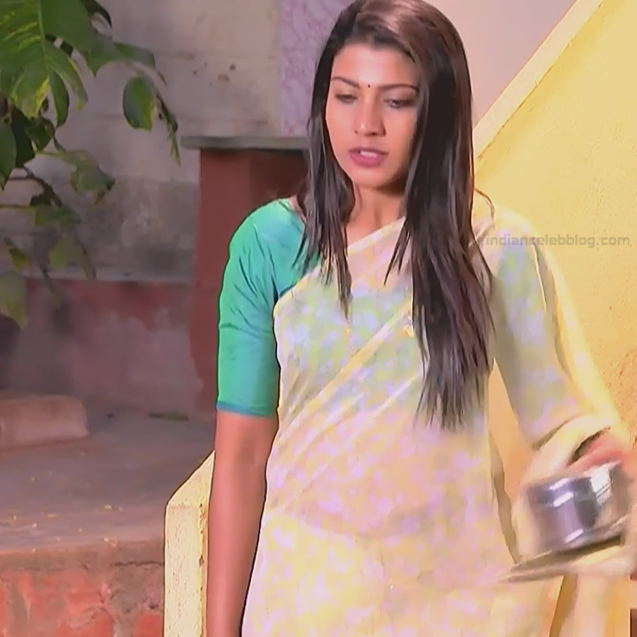 Chandana Raghavendra Kannada TV Actress Sindoora S2 3 hot saree pics