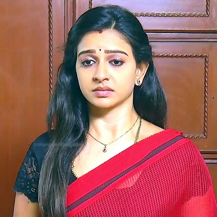 Divya Tamil serial actress Sumangali S34 hot sari photos