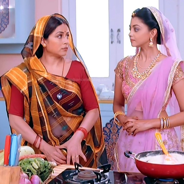 Hindi TV actress mature CompS3 2 saree photo
