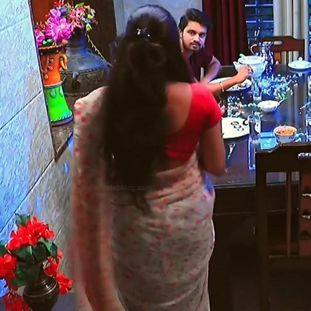 Meghana Shankarappa Kannada TV actress Kinnari S2 15 hot saree pics