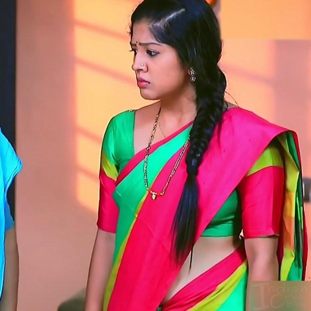Meghana Shankarappa Kannada TV actress Kinnari S2 2 hot saree pics