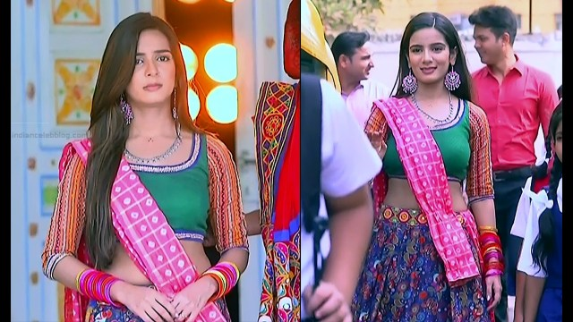 Nikki Sharma Hindi serial actress Roop MKNSS1 20 hot lehenga pics